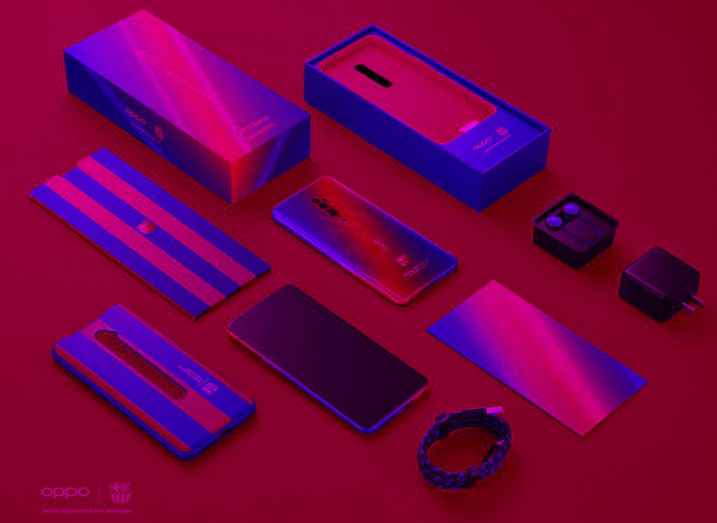 Oppo Barcelona Tasarımlı Telefon