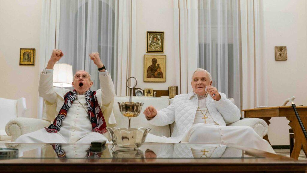 Netflix Bedeva Film The Two Popes - Oppotr.Com