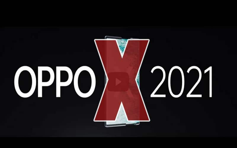 Oppo X 2021 - Oppo'dan Yeni Video