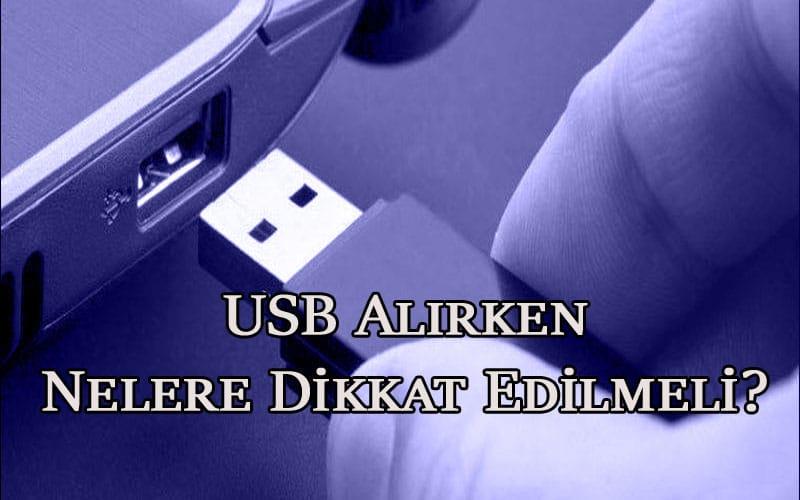 USB Alırken Nelere Dikkat Edilmeli? Oppotr.Com