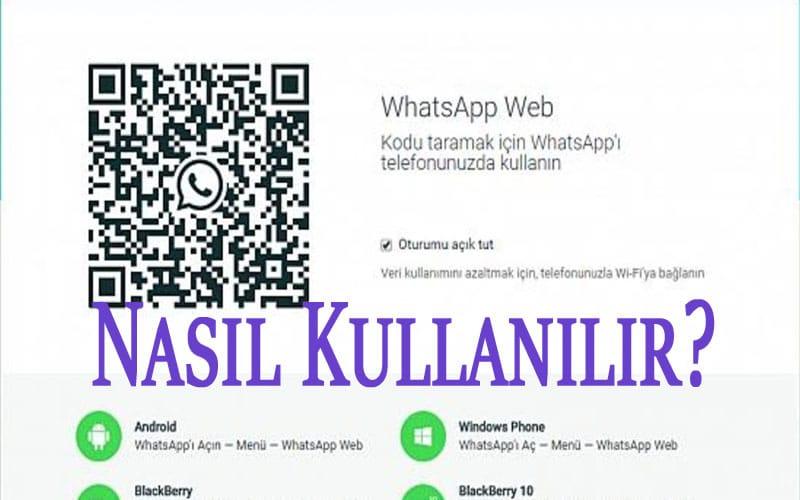 WhatsApp Web Nasıl Kullanılır? OppoTr.Com
