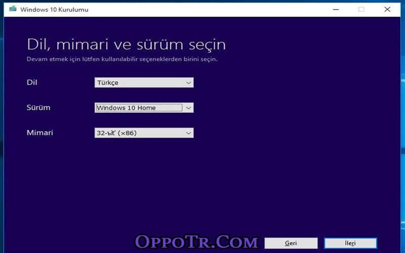 Windows 10 USB - OppoTr.Com
