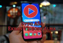 Oppo A5s Ekran Videosu Alma Nasıl Yapılır? OppoTr.Com