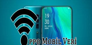 Oppo Mobil Veri Paylaşımı Nasıl Açılır? OppoTr.Com