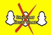 Snapchat Hesap Silme Nasıl Yapılır? OppoTr.Com