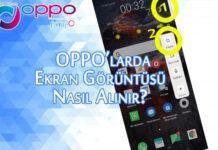 Oppo Telefonlarda Ekran Görüntüsü Nasıl Alınır? OppoTr.Com
