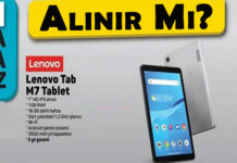 A101 Lenovo Tablet M7 Alınır Mı? OppoTr.Com