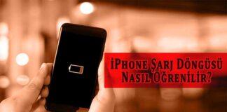 iPhone Şarj Döngüsü Nasıl Öğrenilir?