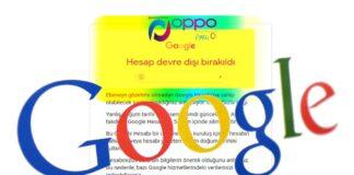 Google Hesap Devre Dışı Bırakıldı, Nasıl Açabilirim?
